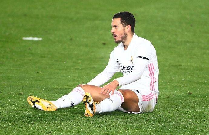 Hazard Out Of Madrid Vs Atalanta Clash After Suffering Another Injury Setback