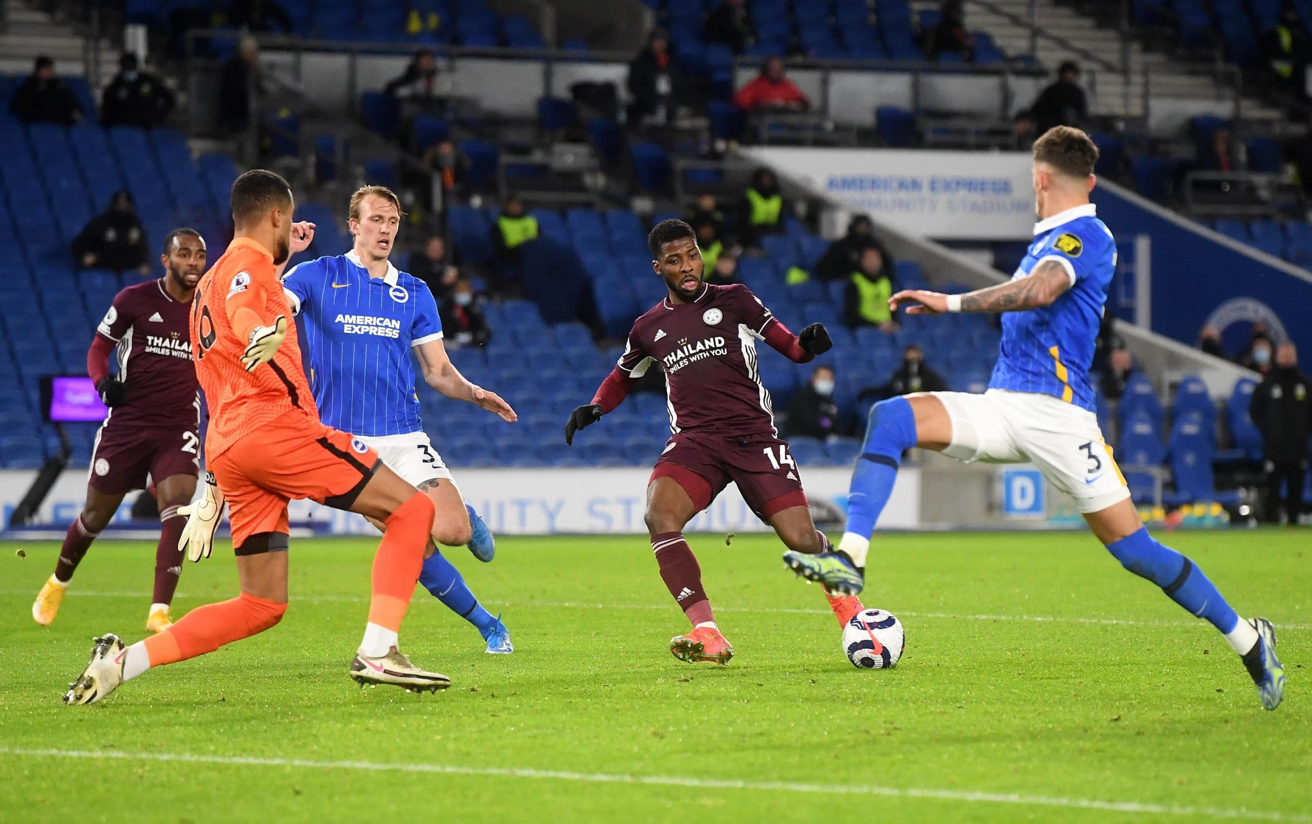 Premier League: Iheanacho Scores Again As Leicester Strengthen CL Hopes With Comeback Win
