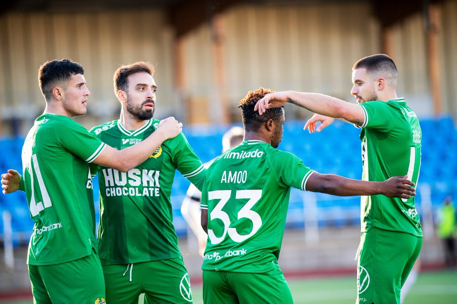 Swedish Cup: Ex-Eaglets Star Amoo Scores Again In Hammarby's Home Win