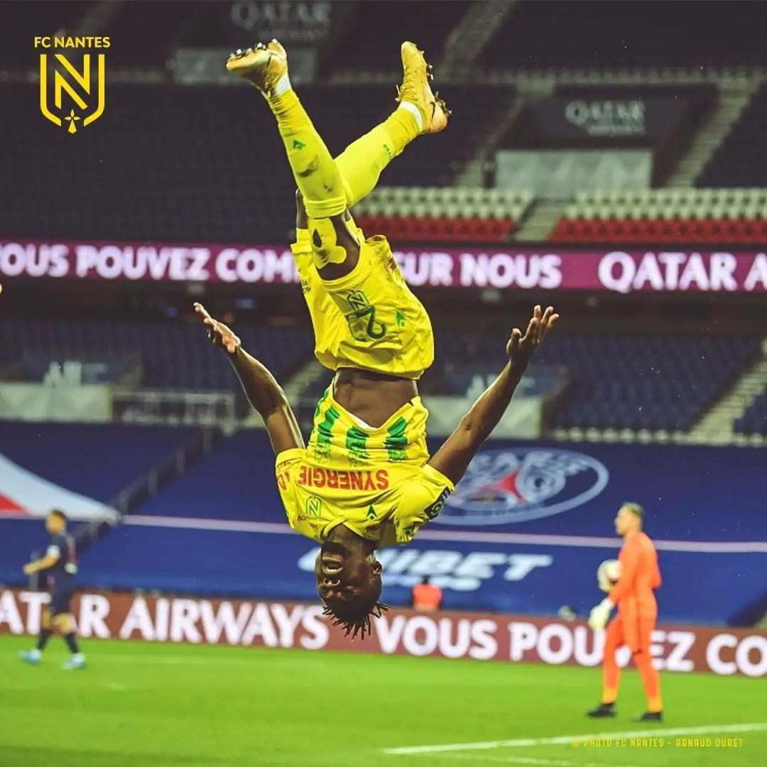 Ligue 1:  Simon Nets  Winner As Nantes Shock Champions  PSG