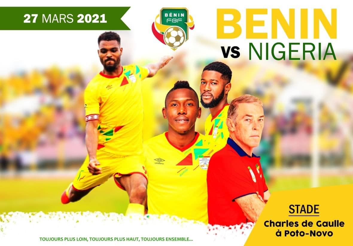 2021 AFCON Qualifier: Benin Republic  Final List For Super Eagles Clash Out Tuesday