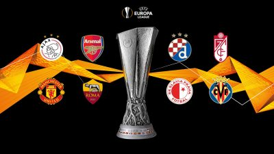 Europa League Draw: Olayinka' Slavia Prague To Face Arsenal, Chukwueze Gets Dinamo Zagreb Test In Quarter-Finals