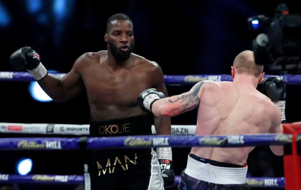 Lawrence Okolie: Why Mum Won't Allow Me Face Joshua