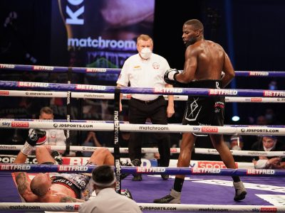 Lawrence Okolie Knocks Out Glowacki In Sixth Round To Claim WBO Cruiserweight Title