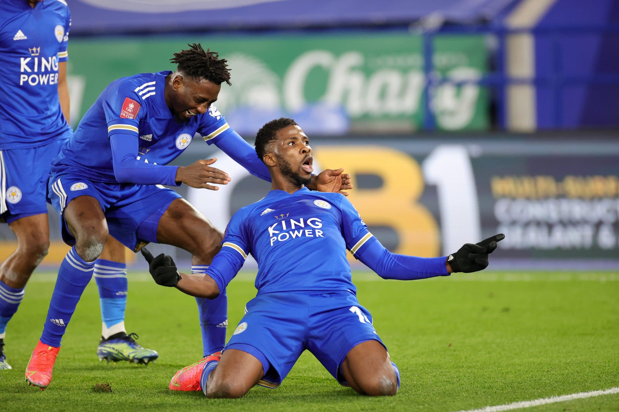 Oliseh Talks Up Iheanacho, Ndidi After Leicester's FA Cup Win Against Man United
