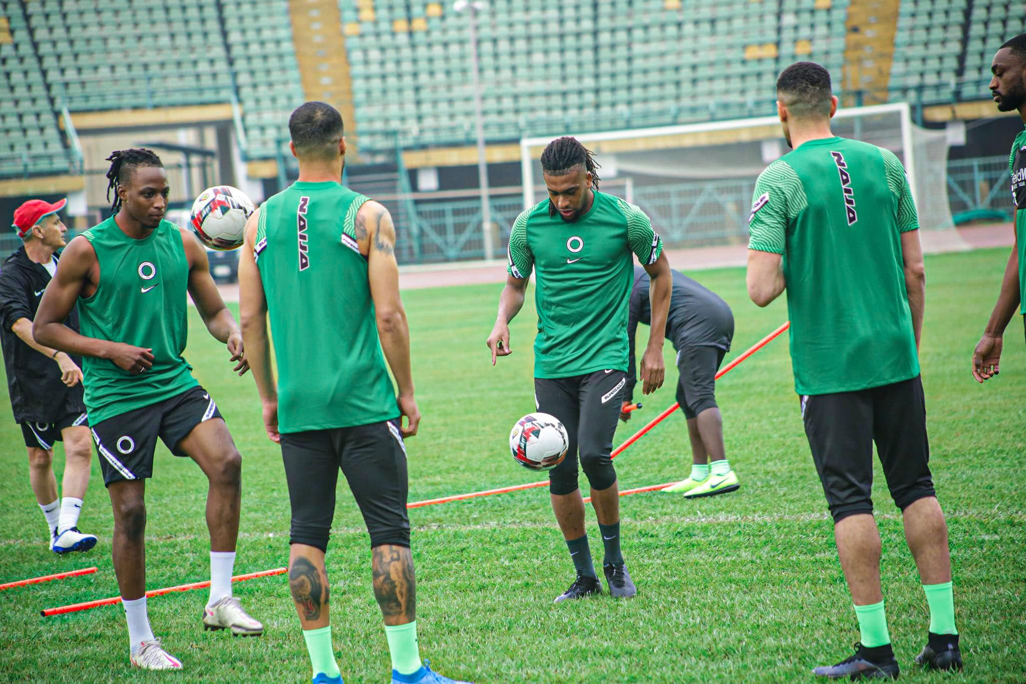 Super Eagles Forced  To  Train In Darkness Ahead Benin Clash