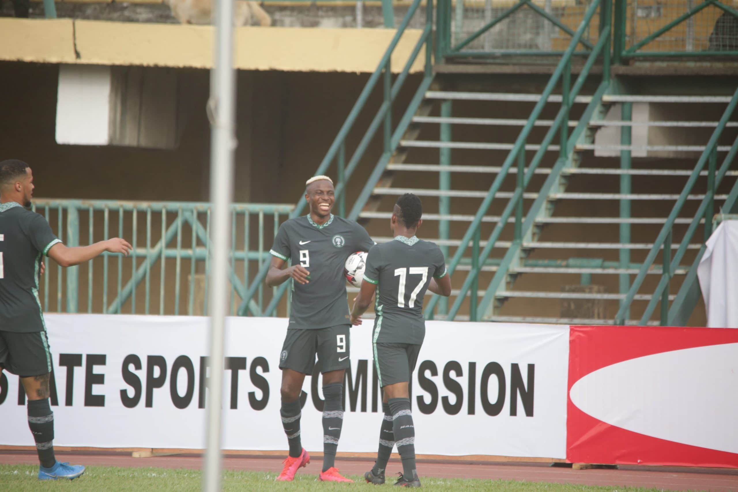 Onuachu On Target Again As Super Eagles End AFCON Qualifiers Unbeaten