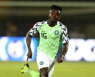 Another Blow For Rohr As Simon Moses To Miss Super Eagles AFCON Qualifiers Due To Covid-19 Travel Ban