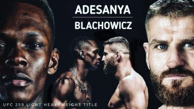 I Want To Be The Greatest UFC Fighter In History - Adesanya Vows Ahead Of His Fight Against Blachowicz On Saturday