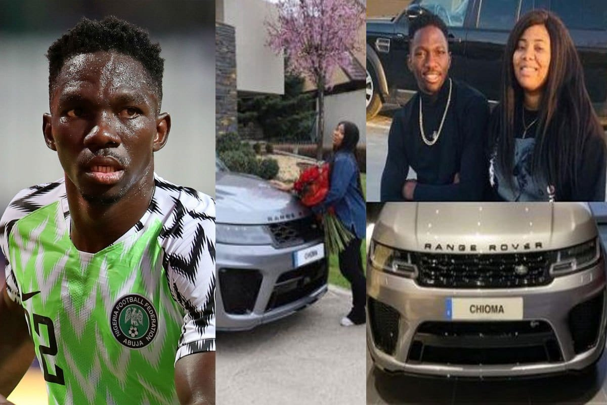 Omeruo Gifts Wife, Chioma Brand New Range Rover Sport SVR SUV