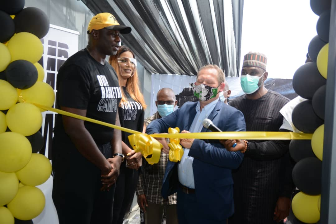 Ex-Nigerian NBA Star Ekezie Launches Basketball Academy In Lagos