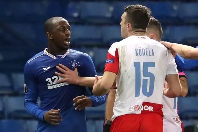 Olayinka's Slavia Prague Teammate Handed 10-Match Ban For Racist Behaviour