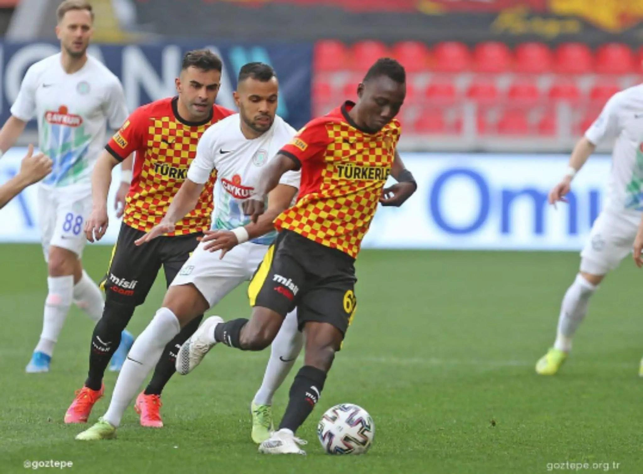 Nwobodo Is Best Player In Goztepe Win Vs Rizespor