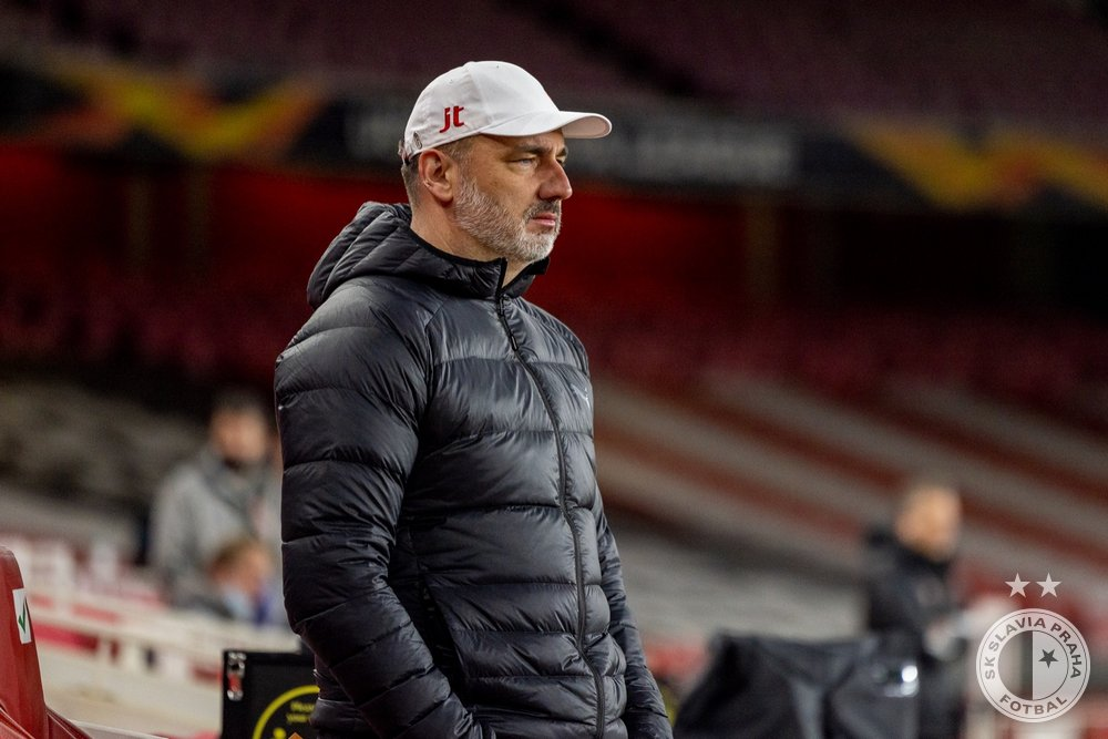 Europa:Slavia Coach Unimpressed With Olayinka, Teammates Despite Away Draw vs Arsenal