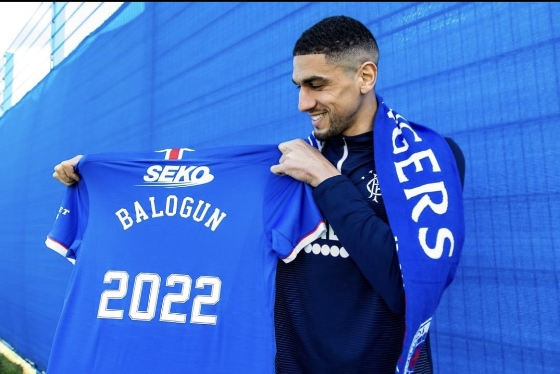 Balogun: I Want To Win  Scottish League Again With Rangers
