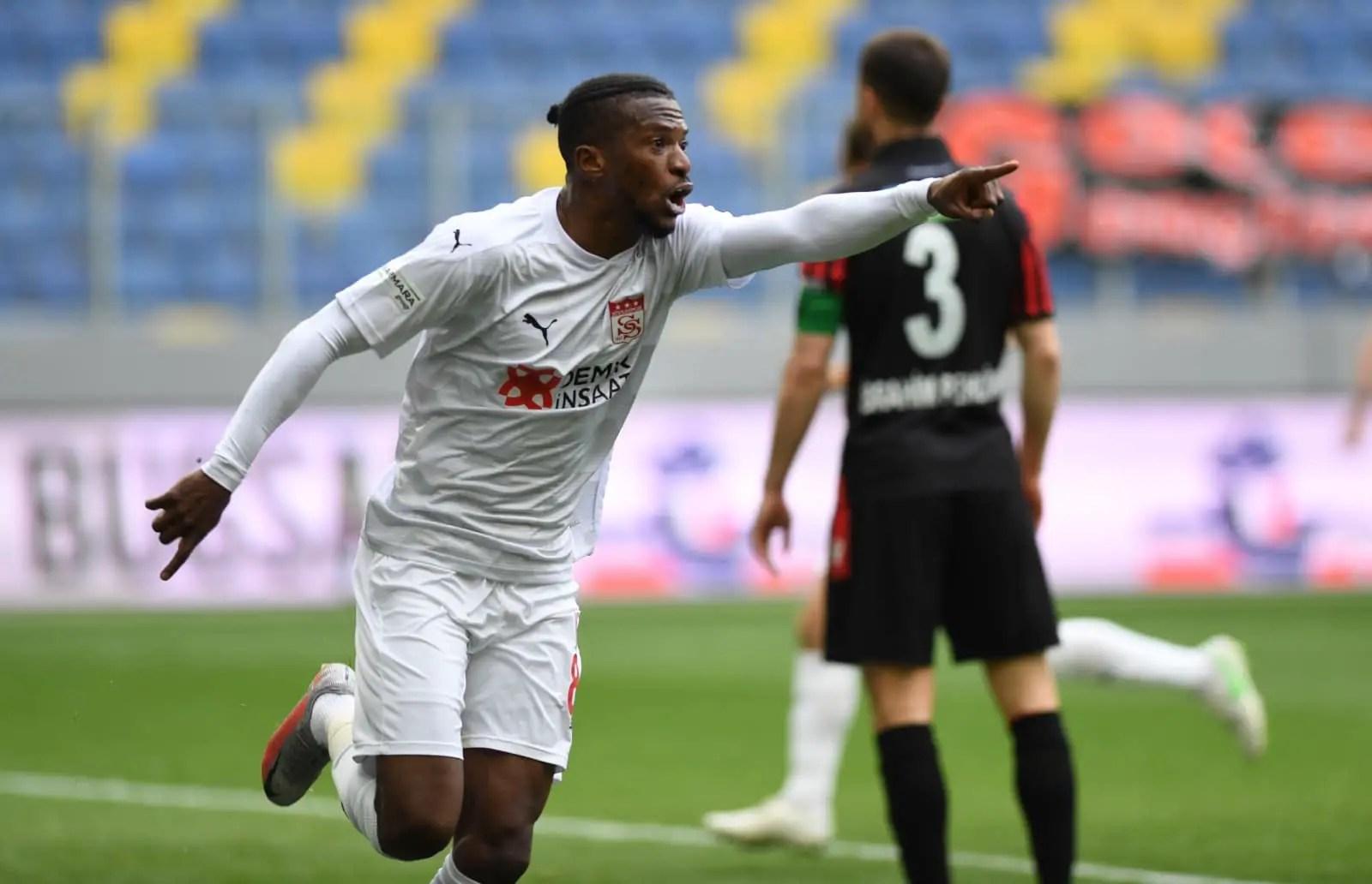Turkish Super Lig: Kayode On Target Again As Sivasspor Claim Away Win, Extend Unbeaten Run
