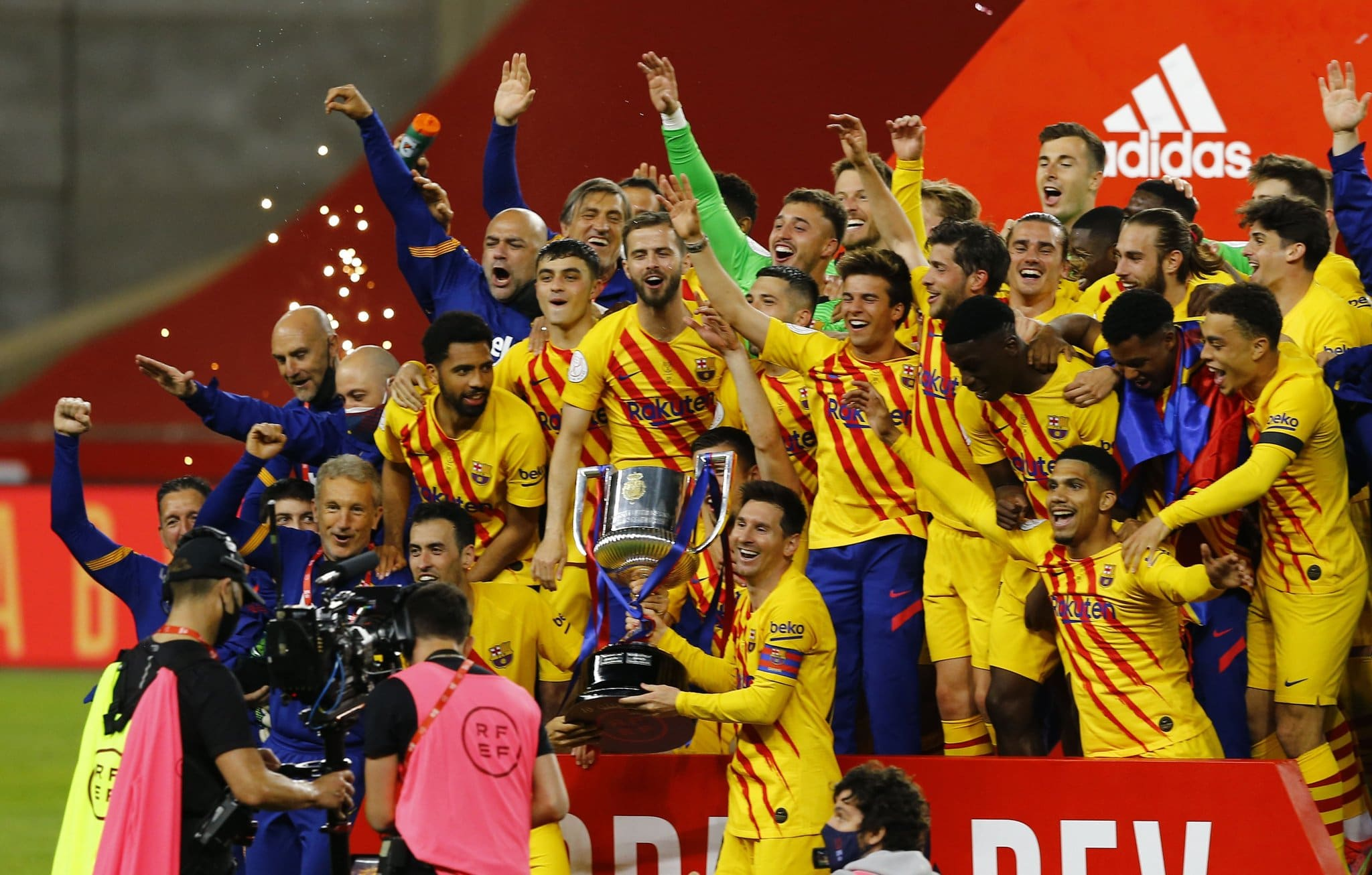 Messi Bags Brace As Barca Hammer Bilbao, Extend Record ...