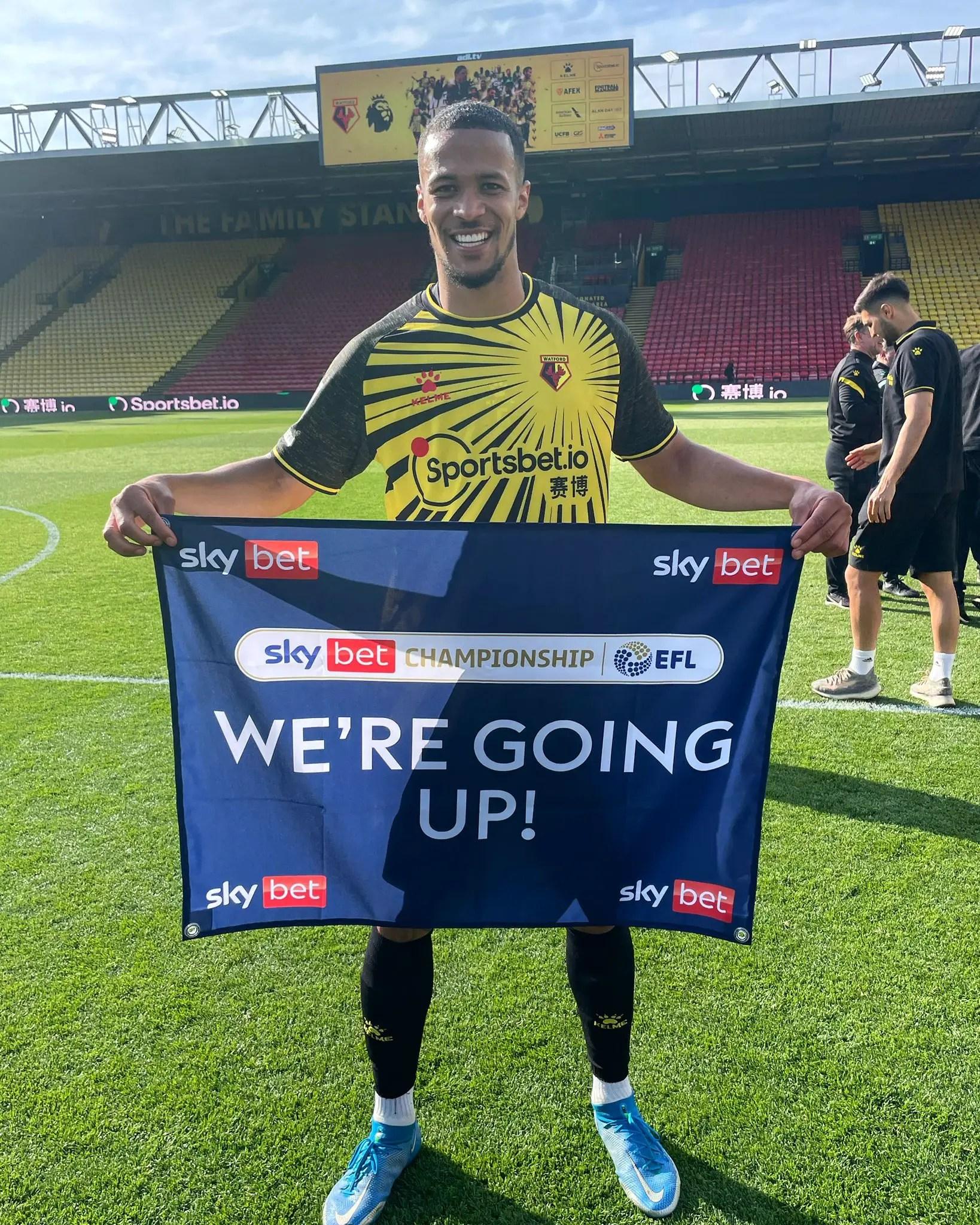 Troost-Ekong, Success Relish Watford's Promotion To Premier League