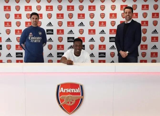 Folarin Balogun Signs New Long-Term Arsenal Contract