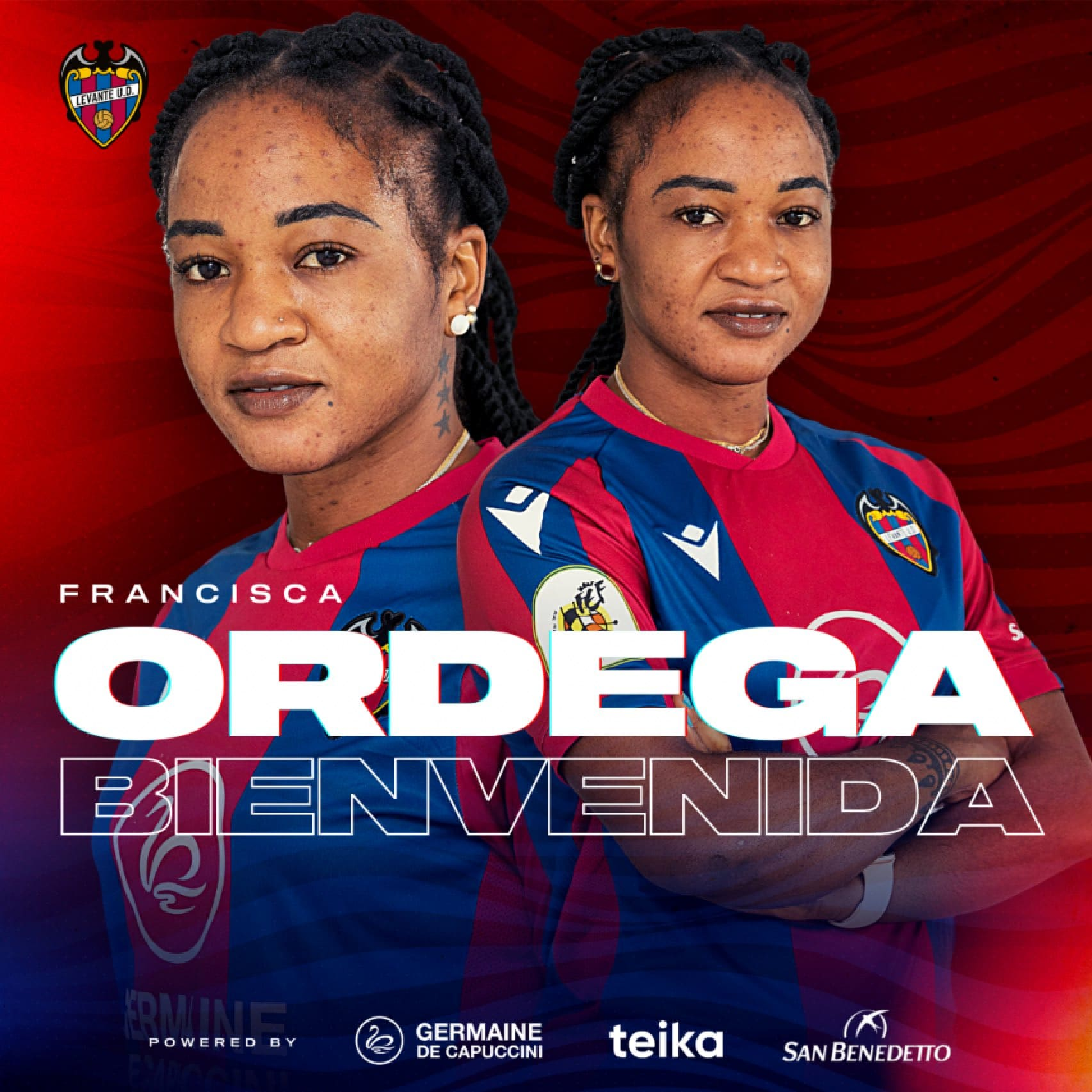 Francisca Ordega Joins Spanish Club Levante On Two-Year Deal