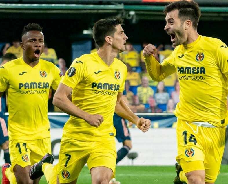 Europa: Chukwueze Bags Assist As Villarreal Head Into 2nd-Leg Tie At Arsenal With Slim Lead; Man United Hammer Roma In Impressive Comeback Win