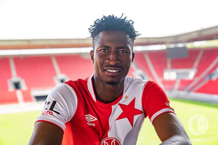 Rohr Warned Me Against Playing For Slavia Prague With Pain Killers- Olayinka