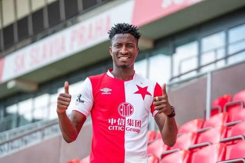 Olayinka Replies Fan Over Racist Tag On Club Teammate, Kudela