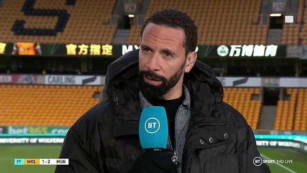 Wolves Fan Racially Abuse Man United Legend Ferdinand