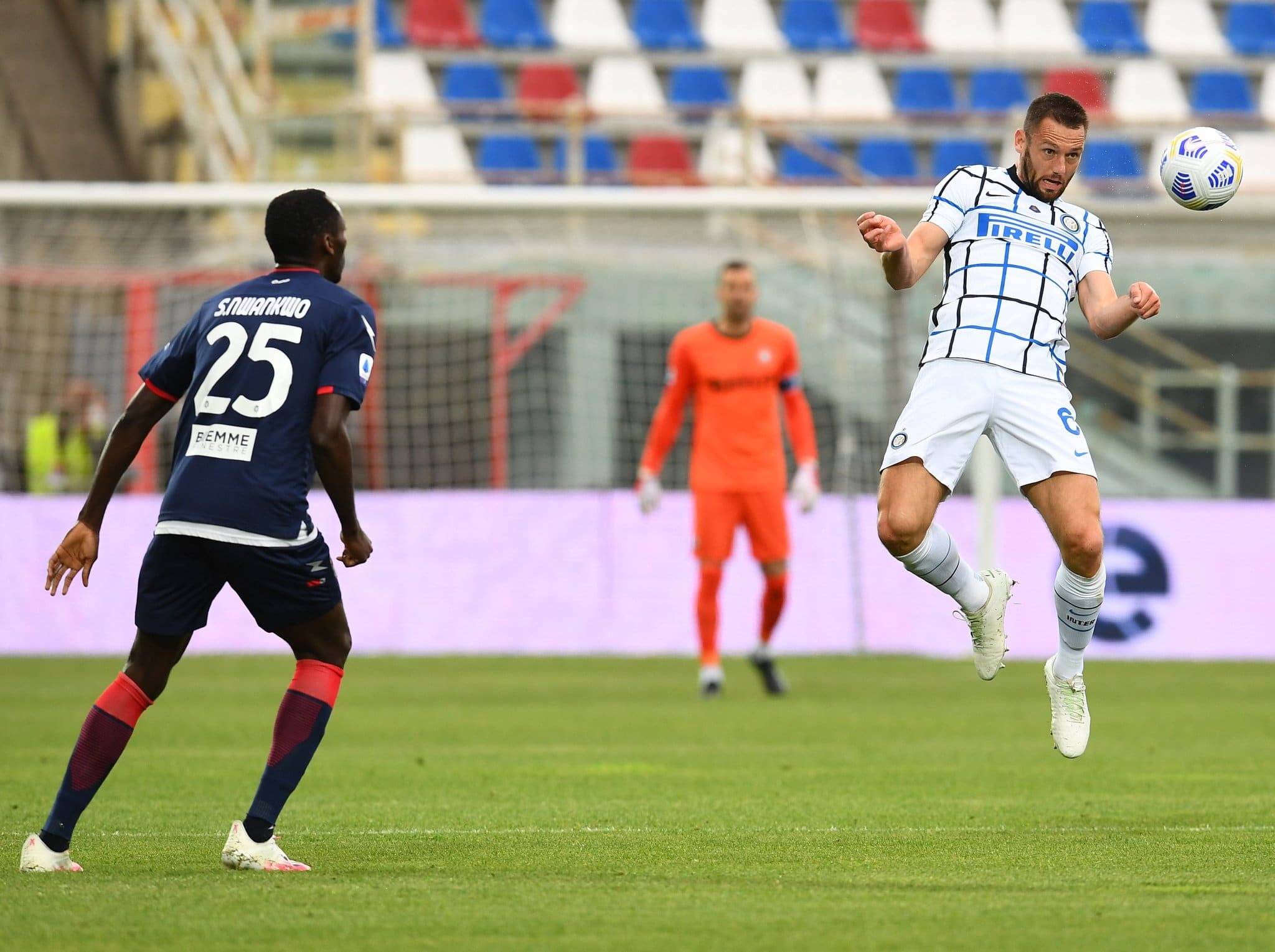 Serie A: Simy Fires Blank As Crotone's Relegation Confirmed After Home Defeat Vs Inter