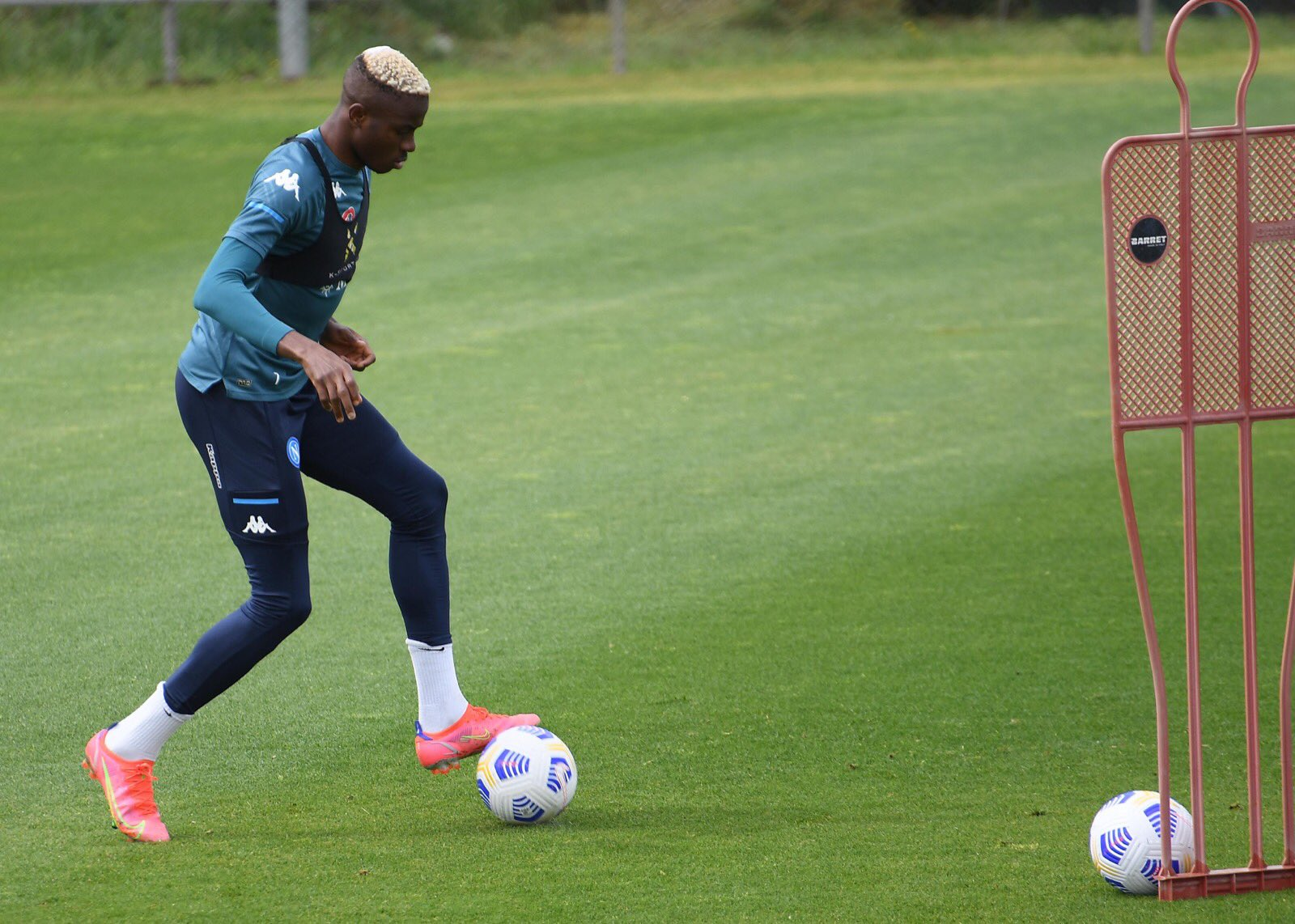 Europa League: Osimhen Named In Napoli Squad For Leicester City Clash