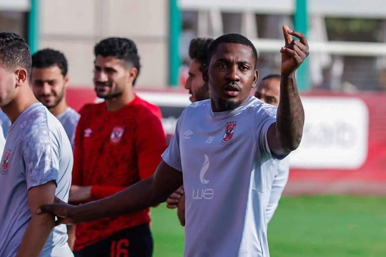 Junior Ajayi Back In Training With Al Ahly
