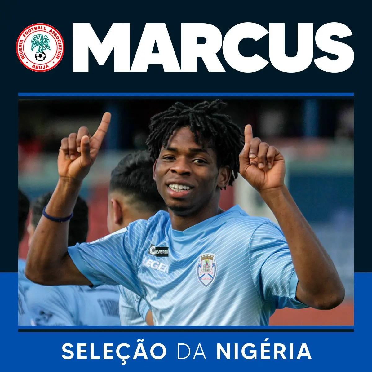 CD Feirense Celebrate  Marcus' Super Eagles Invitation For Cameroon Friendly