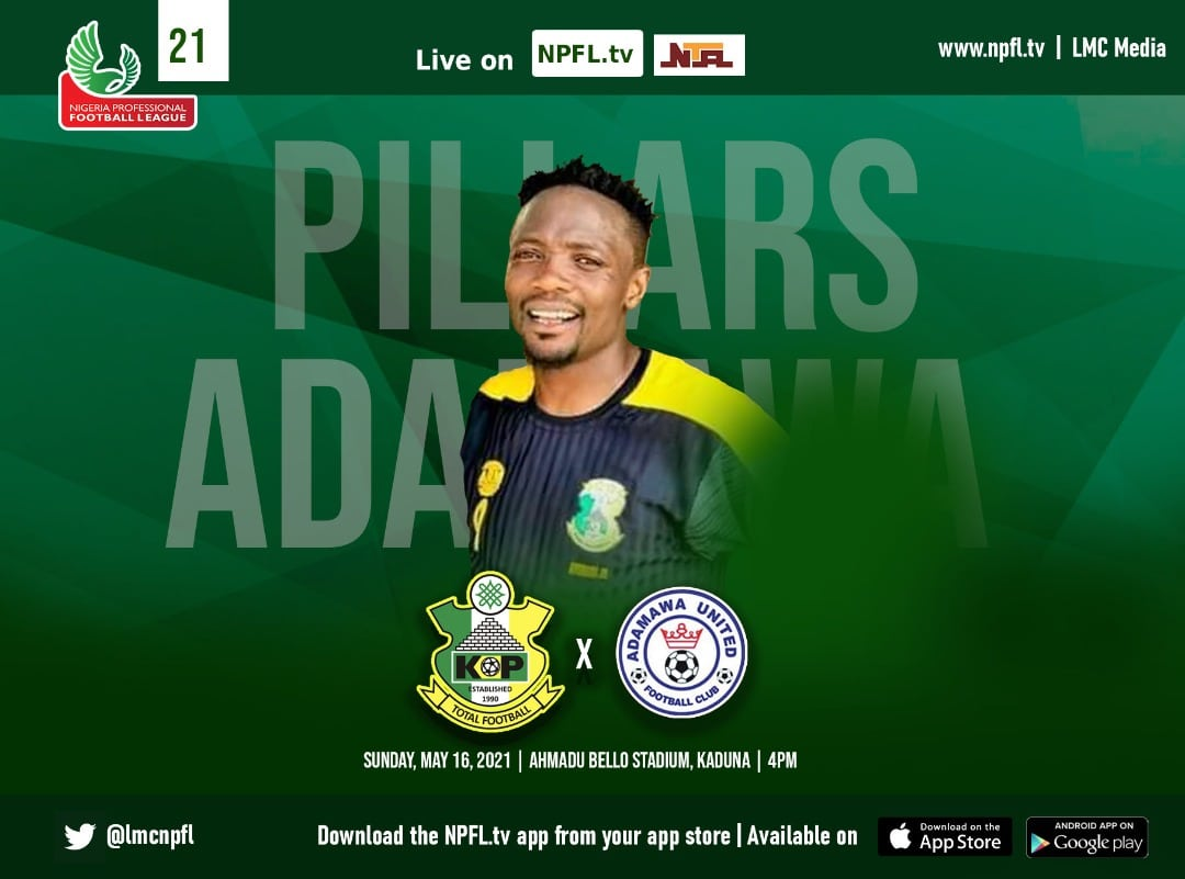 NPFL: Musa To Make  Kano Pillars Debut Vs Adamawa United Sunday