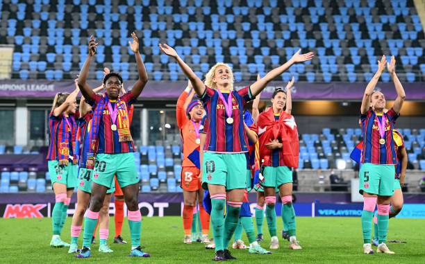 Oshoala Thrilled With Barcelona Champions League Win