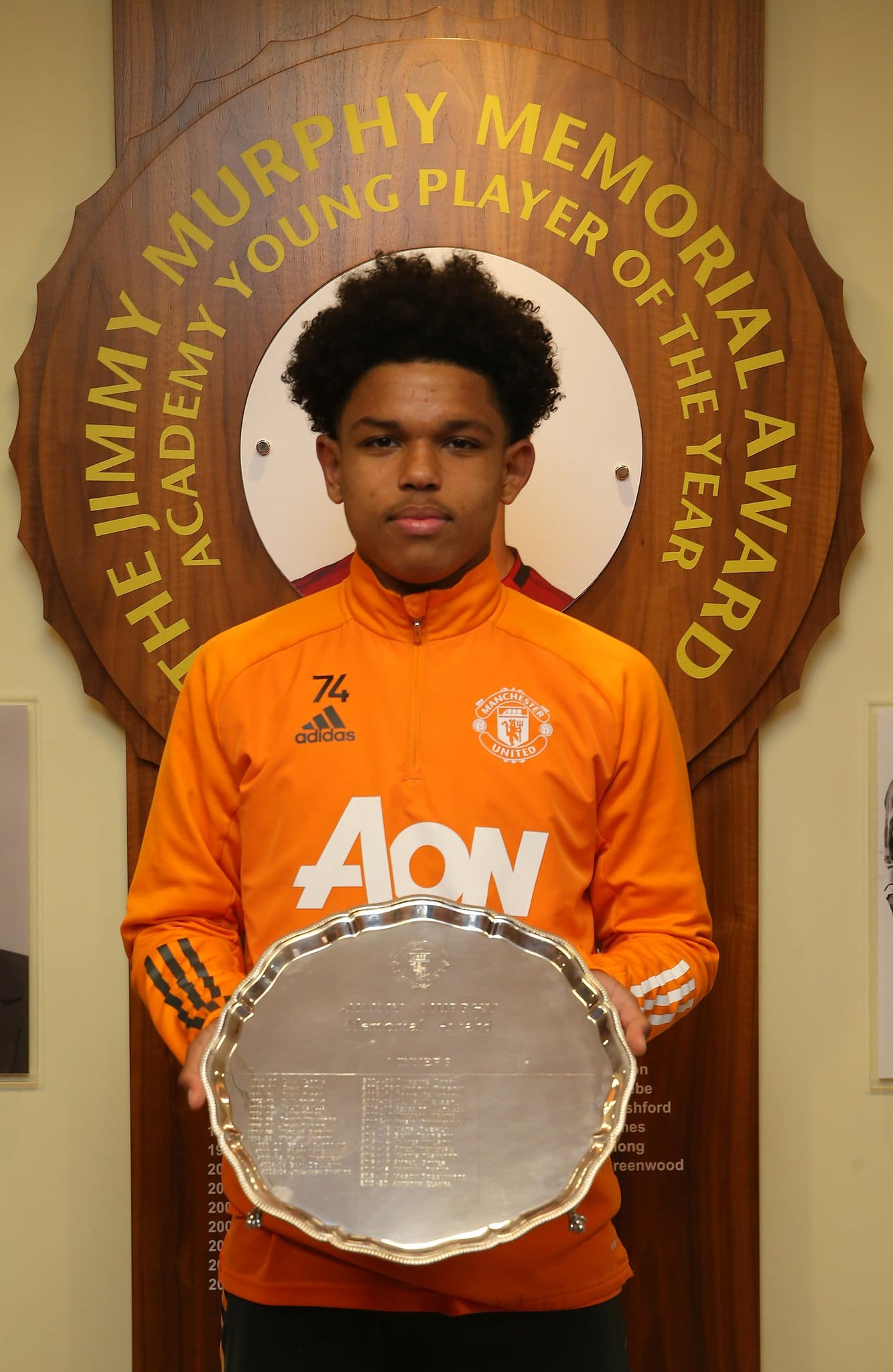 Shoretire Wins Man United's Young Player Of The Year Award