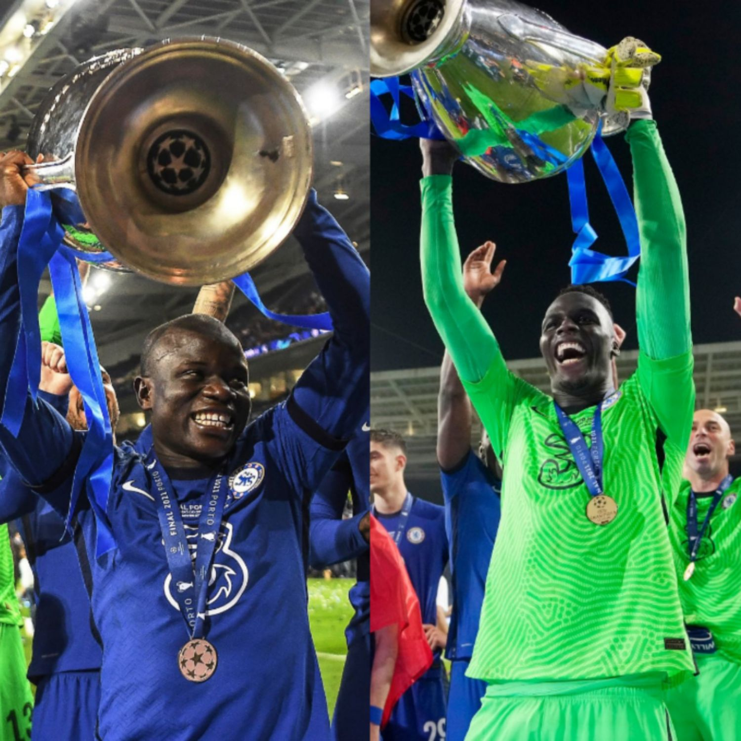 Oliseh Hails Chelsea UCL Conquest; Thumbs-Up Faves – Kante, Mendy