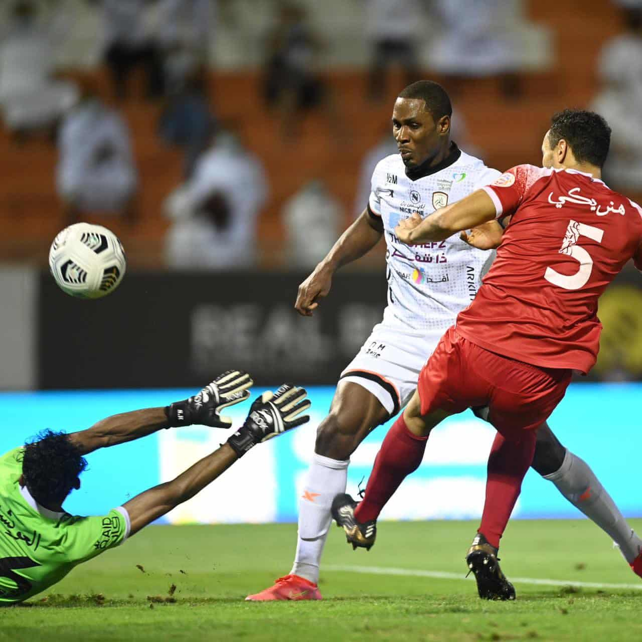 Ighalo Delighted To End Saudi League Season On A High