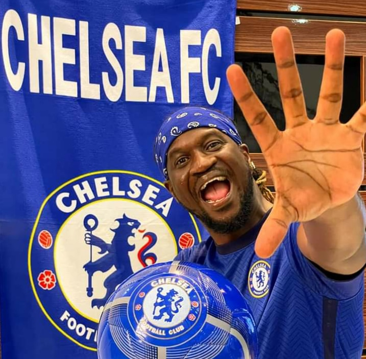 Singer, Rudeboy Mocks Chelsea Haters After Champions League Triumph (Watch Video)
