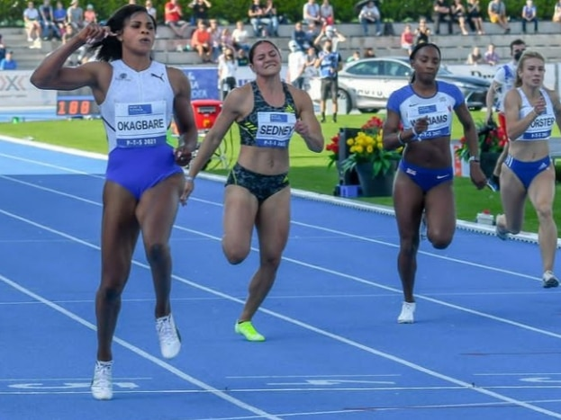 Okagbare Relishes Setting New PTS Athletics Meeting Record In Slovakia