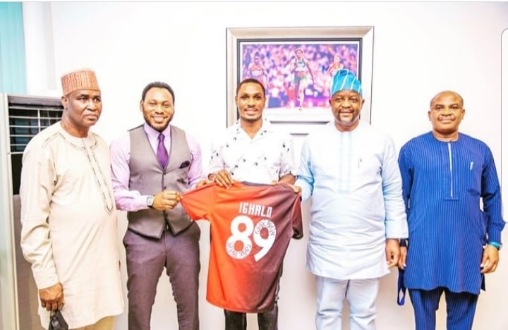 Ighalo Relishes National Principal's Cup Ambassador Appointment