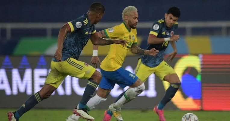 Copa America: Colombia Pick Q/Finals Ticket Despite Controversial Defeat To Brazil