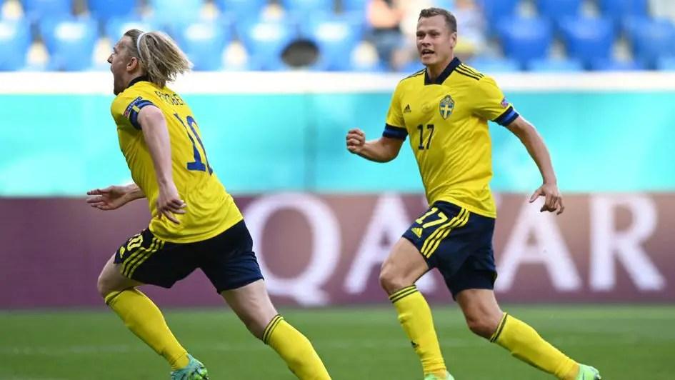 Euro 2020: Sweden Edge Slovakia, Move Top Of Group E