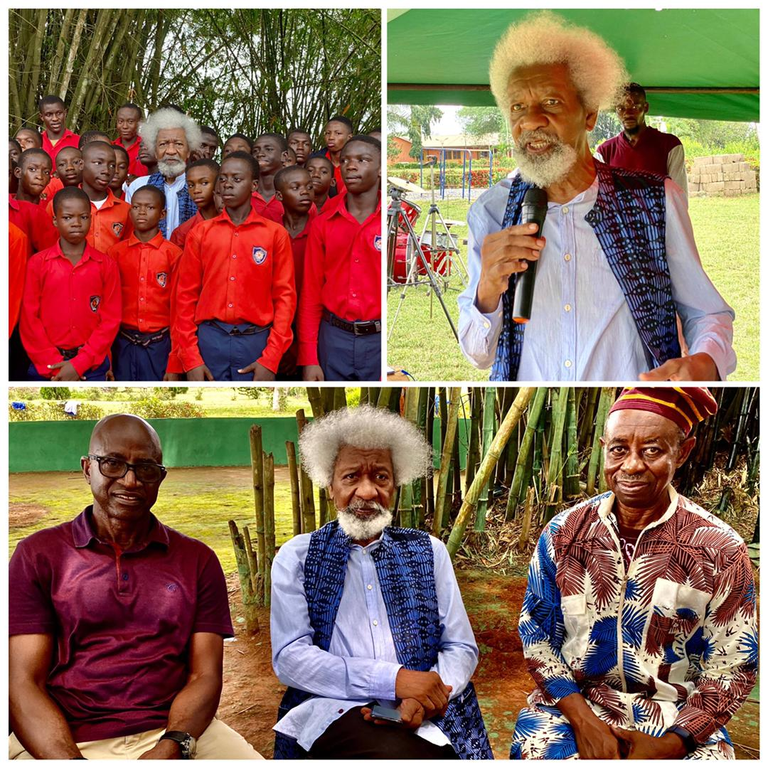 Odegbami: When Sports And Wole Soyinka Meet On The Green Fields Of Wasimi Orile.