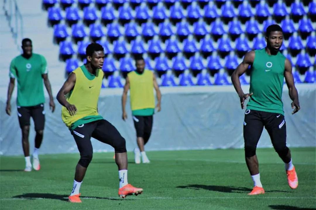 Cameroon vs Nigeria: Musa,  Abraham Marcus Olayinka Start; Iwobi, Etebo Benched