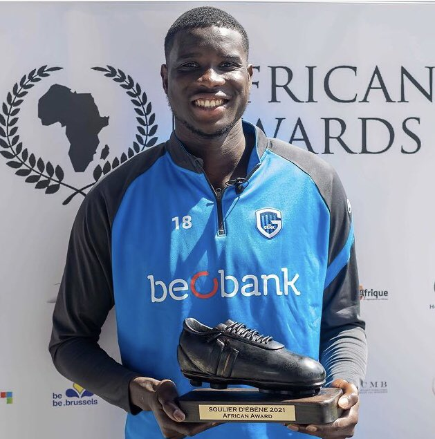 Onuachu Wins Ebony Shoe Award For Best African Player In Belgium