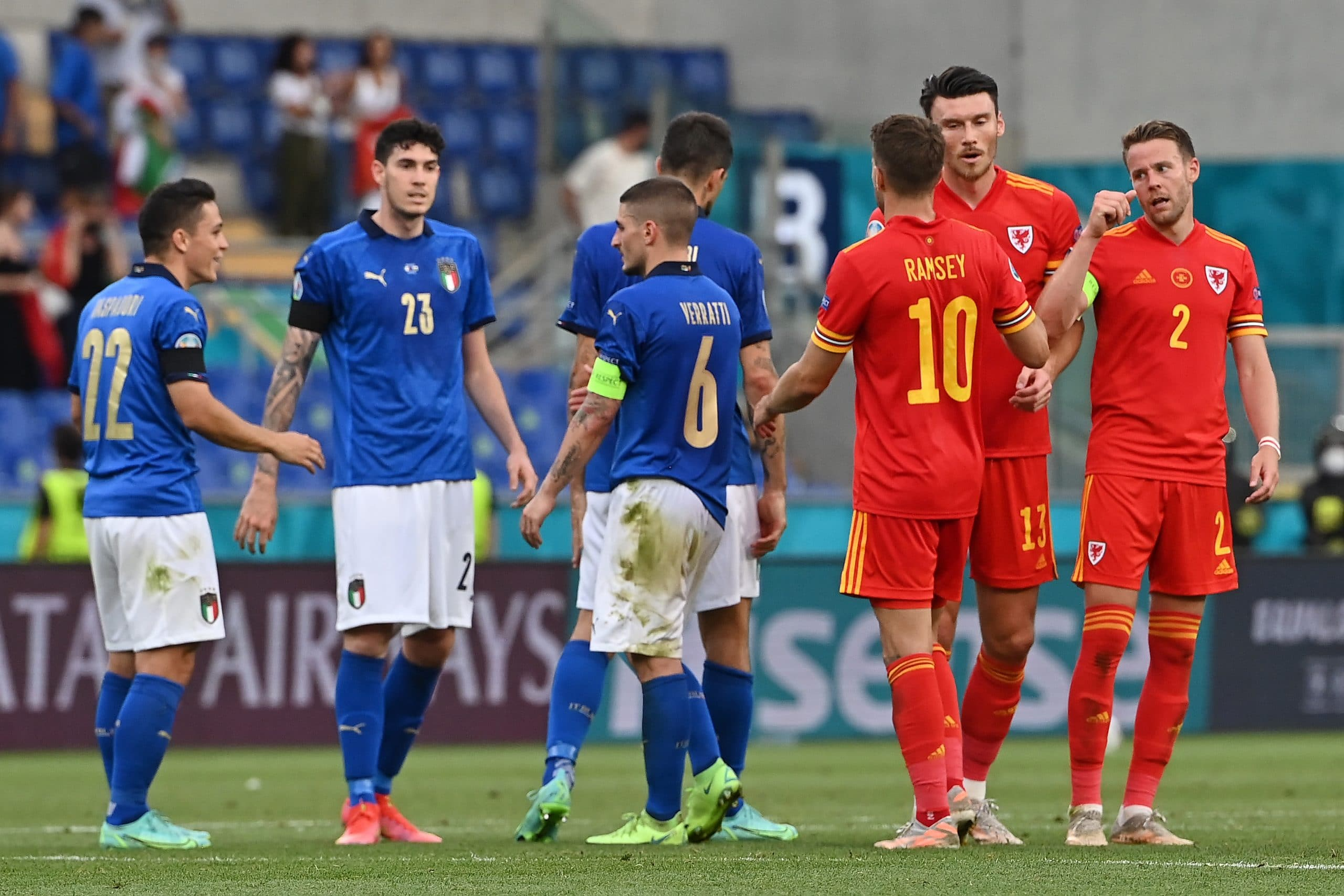 Euro 2020: Wales Qualify For Knockout Stage Despite Defeat To Italy