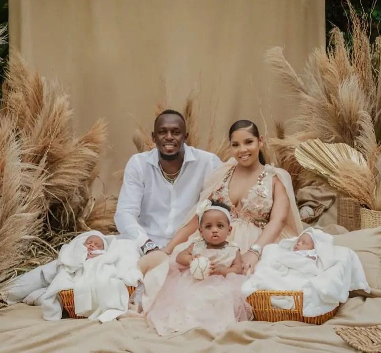 Sprint Legend Bolt Announces Birth Of Twins