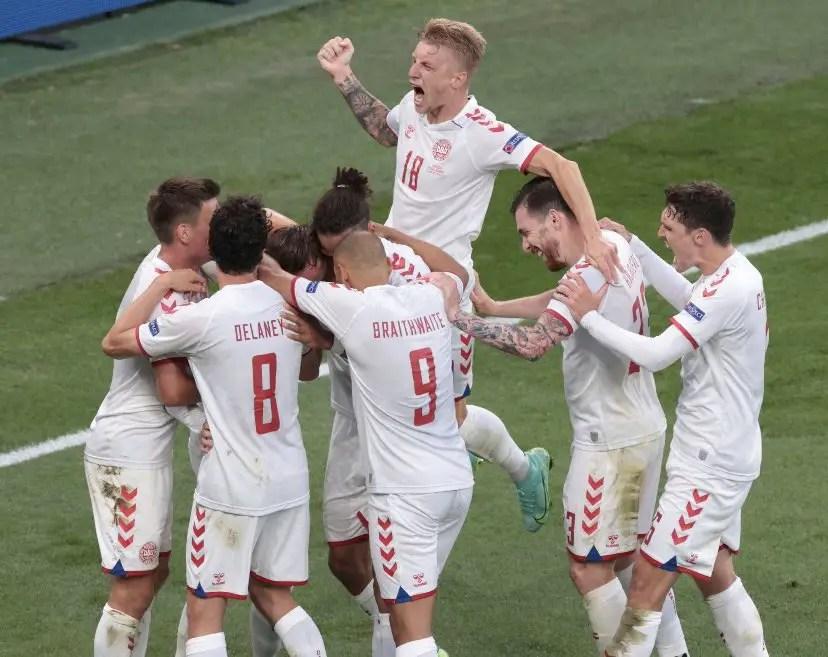 Euro 2020: Denmark Thrash Russia, Joins Belgium In Round Of 16