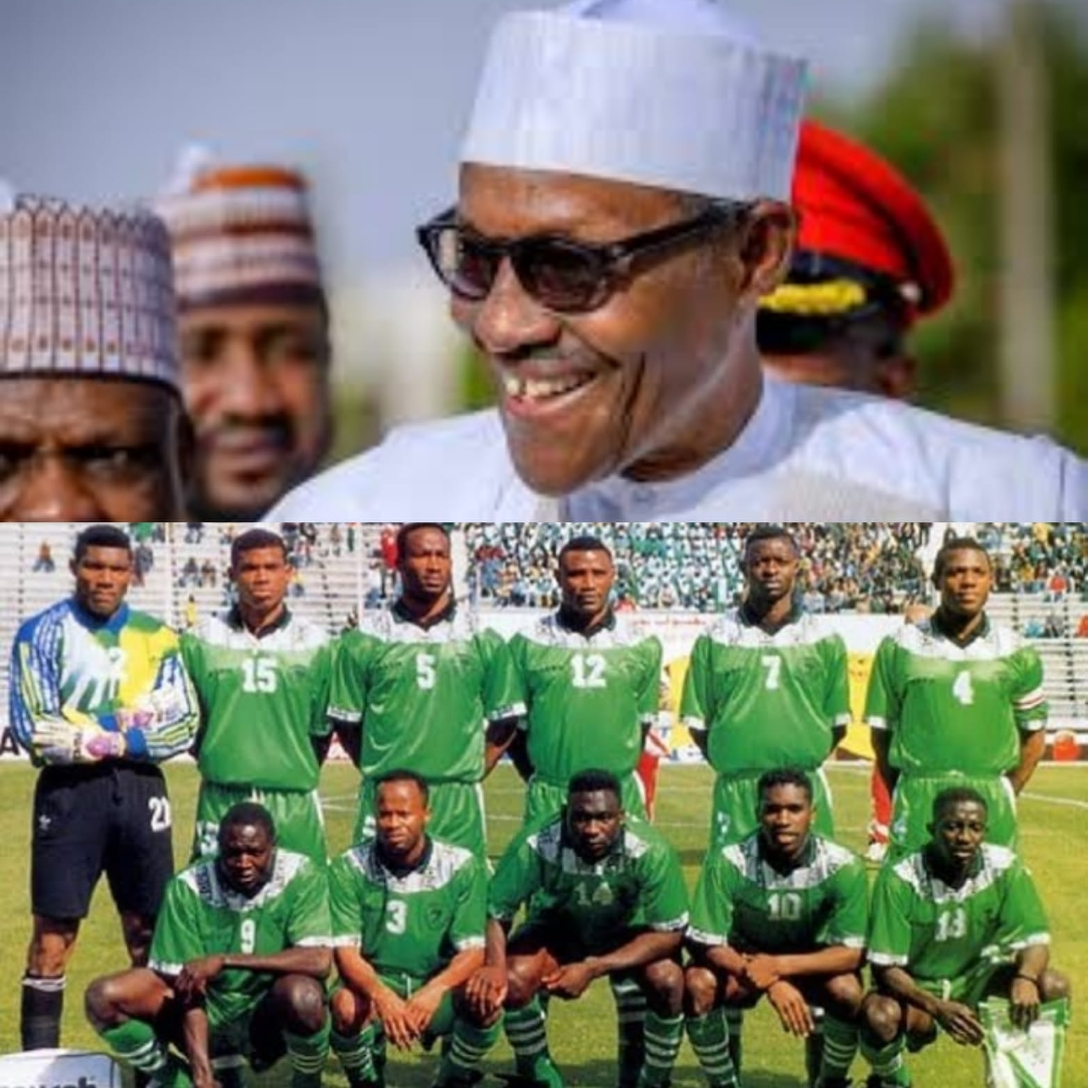 Sports Minister Dare Commends President  Buhari For Allocating Houses To '94 Eagles