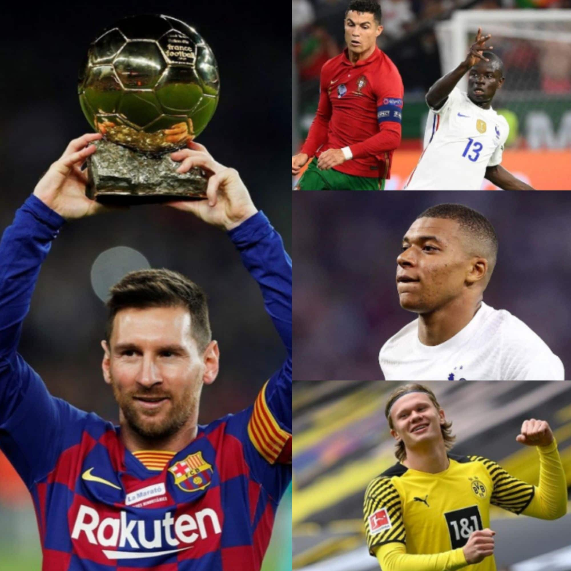 Ballon d'Or 2021: All Eyes On Newcomers – Kante, Mappe, Haaland To Challenge Messi